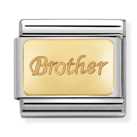 "Blaszka ""Brother"" Gold"