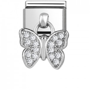 Charms Motyl Silver