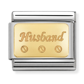 "Blaszka ""Husband"" Gold"