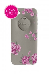 Etui na iPhone 5/5C/5S Ops! Flower Szare