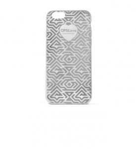 Etui na iPhone 6 Ops! Geometric Silver