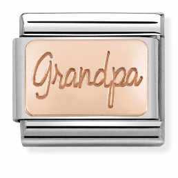 "Blaszka ""Grandpa"" Rose Gold"