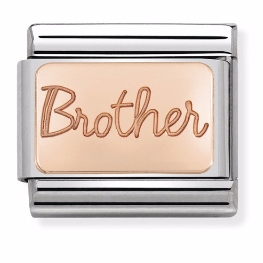 "Blaszka ""Brother"" Rose Gold"