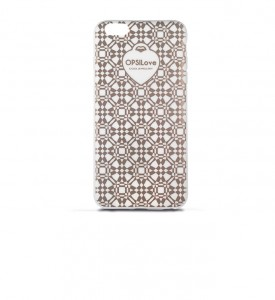 Etui na iPhone 6 Ops! Geometric Rose Gold