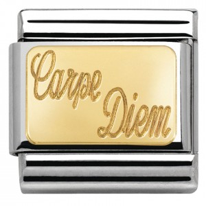 Carpe Diem (grawer)  Gold