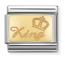 "Blaszka ""King"" Gold"
