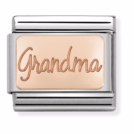 "Blaszka ""Grandma"" Rose Gold"