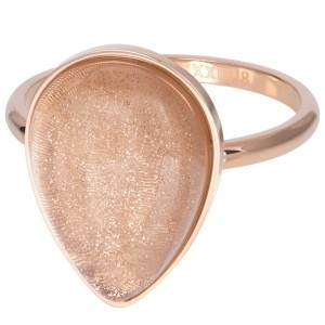 Ring iXXXi Stone Drop Champagne XS