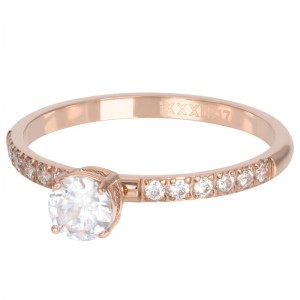Ring iXXXi Queen rosegold XS