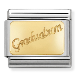 "Blaszka ""Graduation"" Gold"