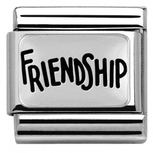 Napis 'FRIENDSHIP' Silver