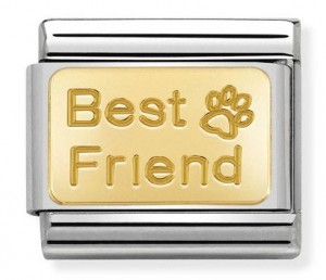 "Blaszka ""Best Friend"" Gold"