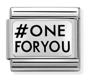 #ONEFORYOU Silver