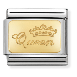 "Blaszka ""Queen"" Gold"