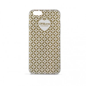 Etui na iPhone 6+ Ops! Geometric Gold